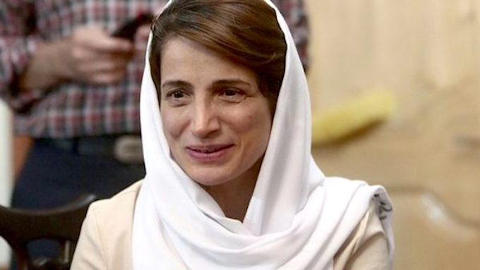 You are currently viewing Nasrin Sotoudeh aus dem Iran