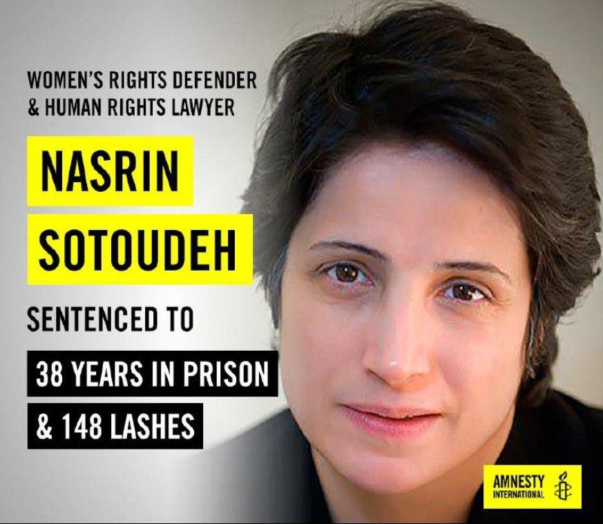 You are currently viewing Irans tapferste Frau – Nasrin Sotoudehs Kampf für die Freiheit